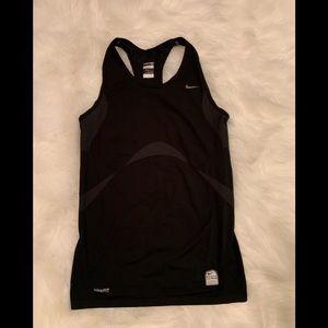 RARE Nike Pro Fit Black Tank Large